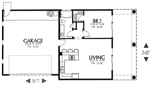 guest house floor plan simple southwest guest house plan 16337md architectural