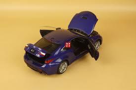 lexus rc f price brunei 1 18 lexus rcf blue color gift ebay