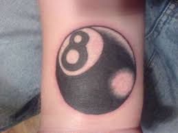 8 ball tattoos and designs page 33