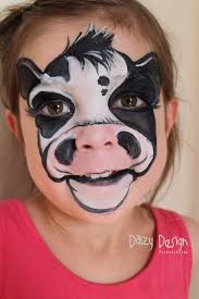 cow face paint pinned for kidfolio the parenting app that makes