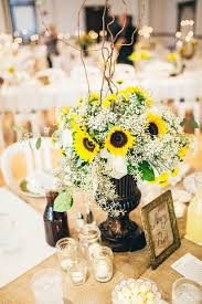 sunflower wedding bright bright sunflower wedding day