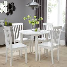 small round table with 4 chairs dining tables for tiny spaces the furniture co
