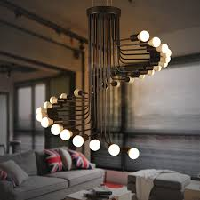 Chandelier Creative China Big Spiral Chandelier China Big Spiral Chandelier Shopping