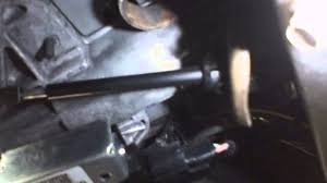 shift cable replacement 2002 dodge grand caravan youtube