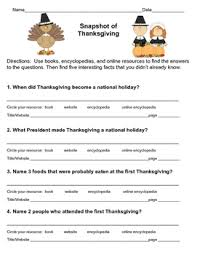 free thanksgiving research scavenger hunt by more than a worksheet