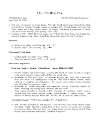 resume for accountant cpa