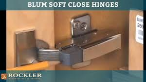 Soft Close Door Hinges Kitchen Cabinets Blum Soft Close Hinge Options Youtube