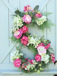 How To Make A Spring Wreath front door decor front door decorating ideas