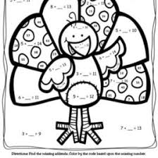 thanksgiving coloring pages math archives mente beta most