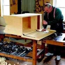 free plan 18th century six board chest fw diy woodworking