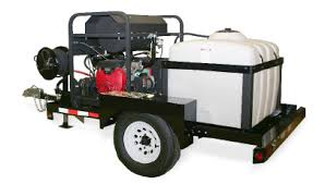 rent a power washer trailer mounted hot water pressure washer rentals az