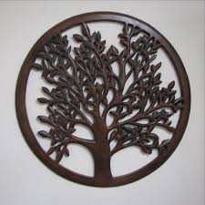 wood carved decorative wall plaque quest end decor