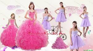 popular beading and ruffles quinceanera dress and bownot and