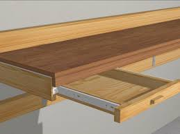 Plans For Making A Wooden Workbench by How To Build A Garage Work Bench With Pictures Wikihow
