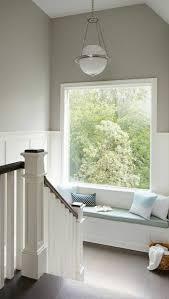 escalier peint 2 couleurs 1001 idées pour aménager en gris perle les variantes dans