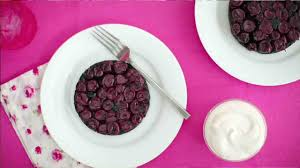black forest upside down cakes