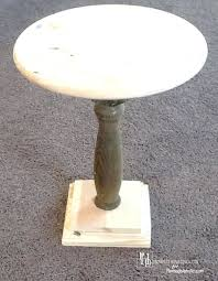 Accent Table Canada Side Table White Pedestal Side Table Canada Carrie Pedestal