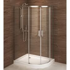 a u0026e bath and shower madrid 48 x 36 asymmetric corner shower stall