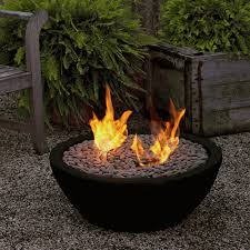 the real flame black colored hampton fire bowl is extremely