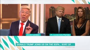 Snl Sofa King by This Morning Criticised For U0027appalling U0027 Donald Trump Impersonators