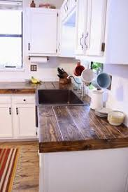unique kitchen countertop ideas porcelain wood tile countertop i never thought to use this on a