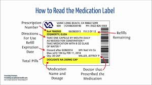 Nutrition Facts Label Worksheet How To Read A Medication Label Youtube