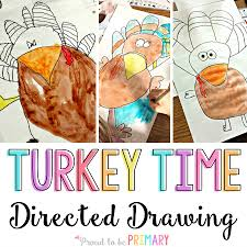 how to draw thanksgiving pictures turkey thanksgiving directed drawing