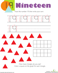 tracing numbers u0026 counting 13 worksheets count and math