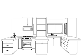 Kitchen Planning And Design by Kitchen Layout Planner The Glamorous Kitchen Cabinet Layout