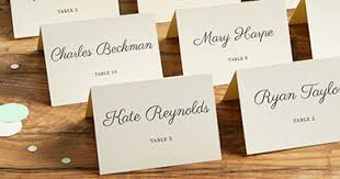 place cards placecards menus table numbers programs always impressive