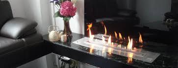 stylish fireplaces ideas for afire ethanol burners
