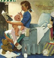 norman rockwell the ca 1947 artsy