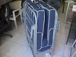 Tempat Tidur Besi Lipat jual ranjang lipat foldingbed kasur lipat folding bed ukuran 70cm