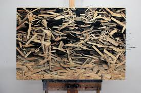 artist pejac transforms pressed wood into optical illusion