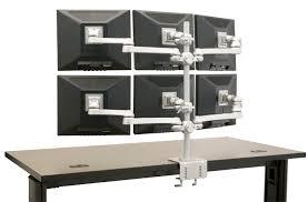 Computer Monitor Mounts Desk Wonderful Multi Monitor Stands Computer Monitor Stand Usa Tx