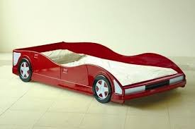 racing car kids bed 3ft single red with mattress option free uk