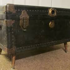 steamer trunk side table best trunk coffee table products on wanelo