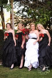 black bridesmaid dresses wedding wednesday bridesmaid dress ideas wedding