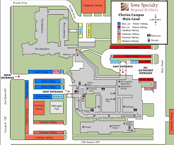 Medical Clinic Floor Plan by Clarion Iowa Clinic Iowa Specialty Hospital