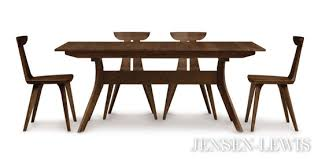 Extended Dining Table Sets Copeland Audrey Extension Dining Table 6 Aud 20 04 Jensen Lewis