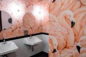 Flamingo Bathroom B U0027klyn Hipsters Get New Day In Court With Shuffleboard Ny