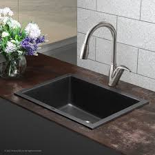 kraus granite 24 x 18 undermount kitchen sink reviews wayfair