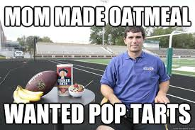 Andrew Luck Memes - mom made oatmeal wanted pop tarts disappointed andrew luck