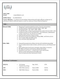 Sample Resume For Hardware And Networking For Fresher Network Engineer Resume 2 Sample Network Engineer Resume Cisco