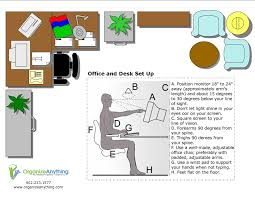 How To Organize An Office Desk by At Work Tips Organize Anything