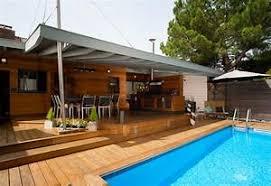 cuisine d été couverte piscine d bordement cuisine d t et vue