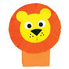lion puppet lion paper bag puppet cleverpatch