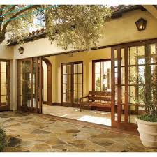 Wood Sliding Glass Patio Doors Wood Sliding Glass Doors Mediterranean Front Doors By