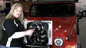 jeep wrangler fan flex a lite 60187 jeep 87 06 wrangler radiator fan combo