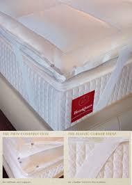 brinkhaus twin topper goose down feather mattress topper the chelsea linen company premium homeware
